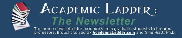 Academic Ladder Newsletter