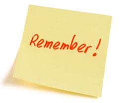 Remember=